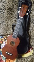 Diamond Head Sporano Maho Stained Mahogany Brown Maple Body,back and neck Ukulele (DU-150)