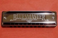 Suzuki Bluesmaster 10-hole diatonic harmonica (MR250)